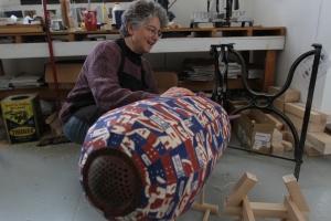 Jessica working on Torpedo--Xiaolu photo